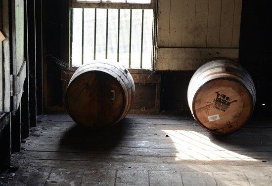 Κεντάκι: Barrels at Wild Turkey