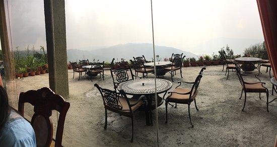 Ravine Hotel View From The Dining Hall Best In Panchgani I Would