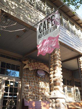 Medicine Park, OK: Old Plantation Restaurant .. great place to dine