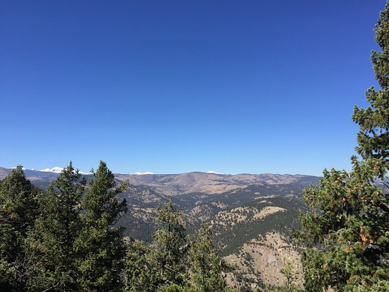 Boulder, CO: Some views from the top lookout after about 30 minutes of hiking