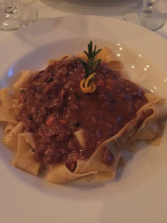 Bunnell, FL: Wild Boar Ragu INCREDIBLE!