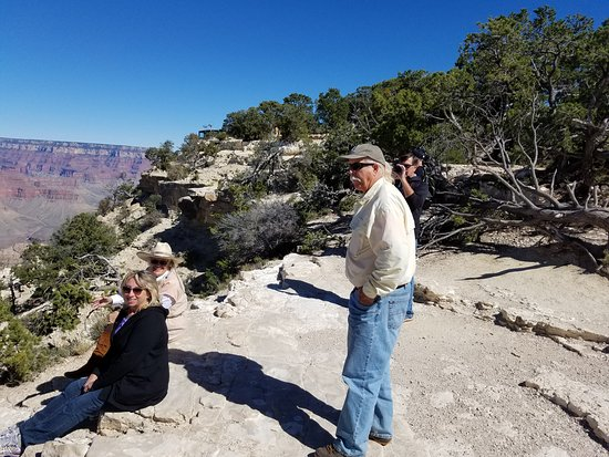 Marvelous Marv's Grand Canyon Tour: Marv, Maggie and Friend