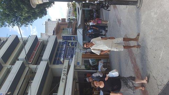 Heraklion Prefecture, Grecja: Kleine Shopping Tour nach Heraklion ganz spontan geplant also ab ins Auto und los😎 das ist das
