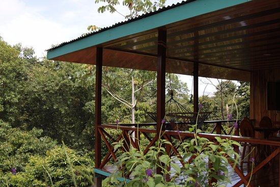 Vista Drake Lodge: FOTO DE VILLA CECROPIA