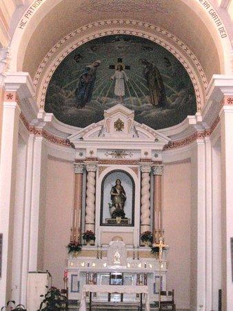Filadelfia, Itália: Foto un pò sgranata dell'altare
