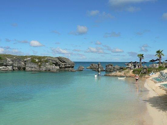 St. George, Islas Bermudas: Beach view looking to North