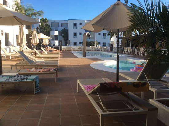Club Atlantico : View from our poolside patio