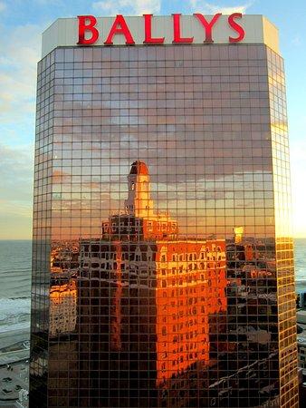 Bally's Atlantic City: Bally's from Claridge rooftop Vue Lounge