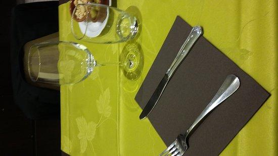 Port-Vendres, France: La table