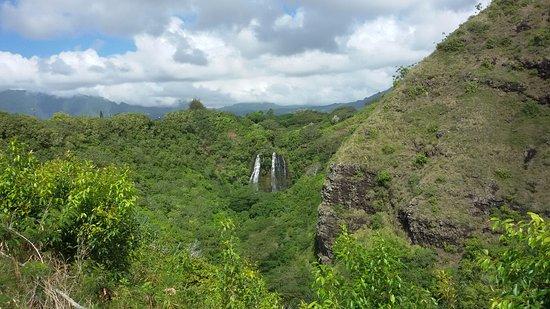 Kilauea, Hawái: le cascateOpaekaa