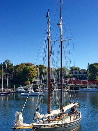 Blue Harbor House Inn: Schooner Trip out of Camden Harbor