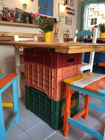 Recycled Furniture Cheap But Cool Picture Of Cafe Casu Bogota
