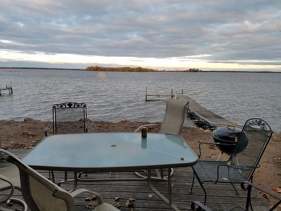 Breezy Point, MN: Executive Beach House #461 (back deck view)