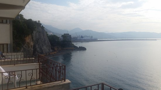Hotel La Lucertola: Mot Salerno