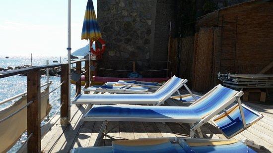 Hotel La Lucertola: Stranden