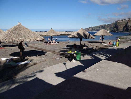 Hotel Do Campo: Plaża w Ribeira Brava
