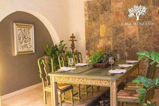 Restaurante casa manzano cuernavaca fotos n mero de for Restaurante casa jardin