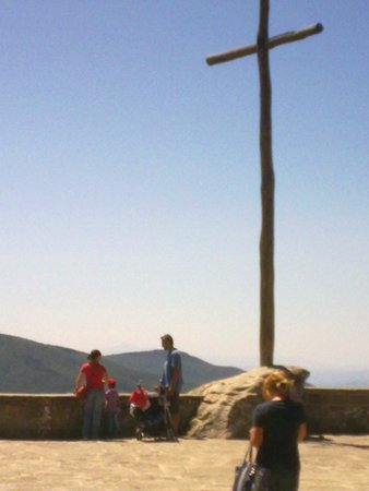 Terrazza panoramica presso il Santuario francescano de La Verna
