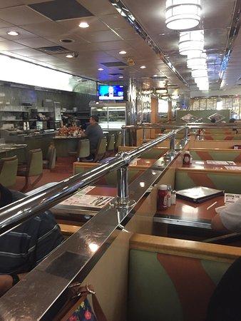 Clifton, NJ: chrome and booths