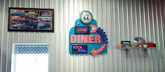 Owen Sound, Canada: diner sign