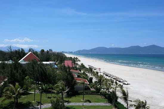 Centara Sandy Beach Resort Danang Fantastisk Utsikt