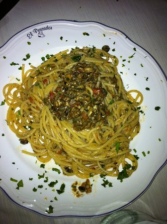 Spaghetti con le rampatelle