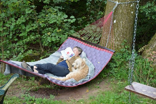 Hoarwithy, UK: Double hammock