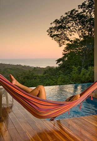 Mal Pais, Costa Rica: Relax in your own private hammock with ocean views
