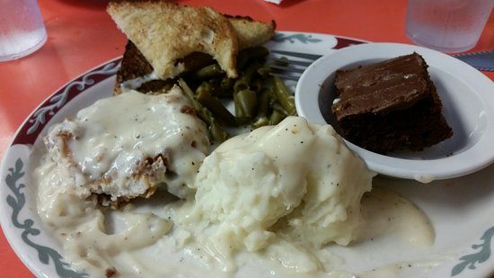 Black Hawk, Южная Дакота: Chicken fried steak