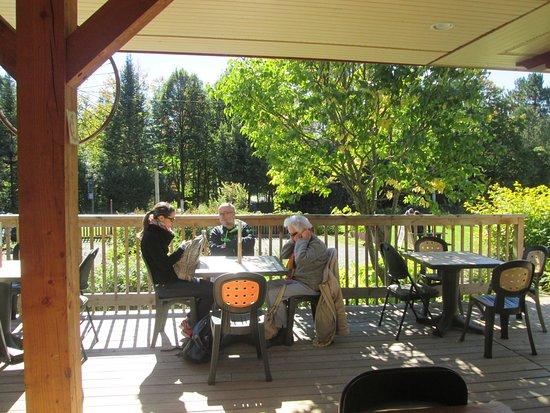 Val Morin, Canadá: Enjoying the sun !