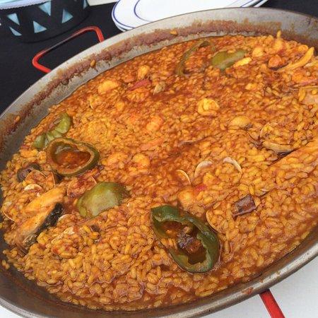 Lo Pagán, España: Paella