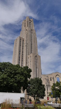 The Nationality Rooms: The towering Cathedral of Learning, University of Pittsburgh