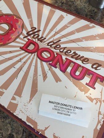 Lenoir City, Теннесси: Master Donuts