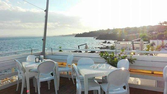 Terrazza sul mare - Picture of Bar La Posada, Aci Castello - TripAdvisor