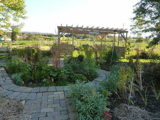 Brome, Canada: Le jardin du chef