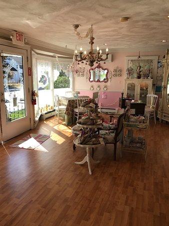 Walpole, MA: the front room - beautiful entrance!