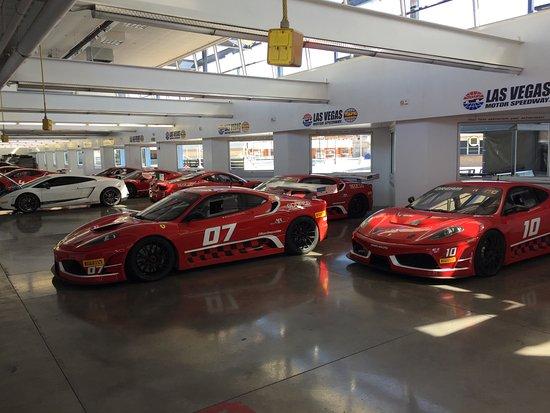 Supercar Garage Picture Of Dream Racing Las Vegas Tripadvisor