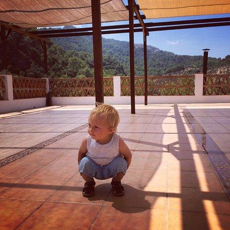El Burgo, España: The yoga roof