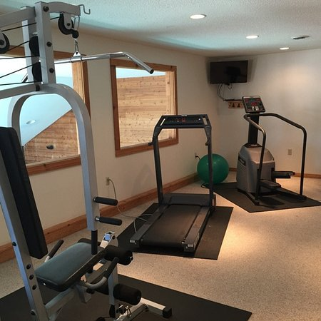 Siren, WI: Exercise Room