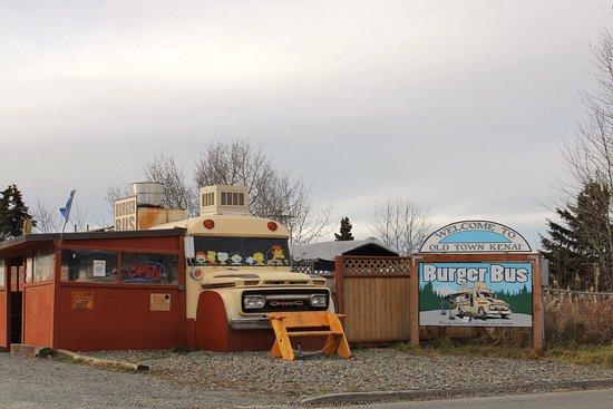 Kenai, Αλάσκα: Burger Bus