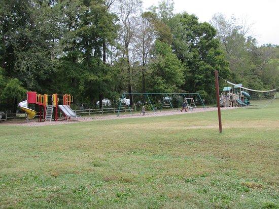 Burns, TN: Playground by campground
