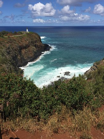 view of Kilauea Lighthouse