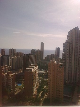 Playamar Apartments Click Benidorm: view from 21st floor