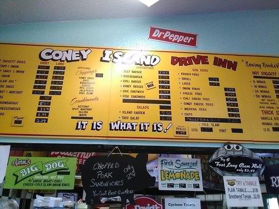 Brooksville, Φλόριντα: menu