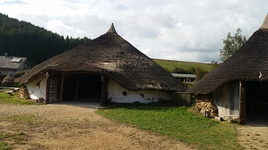 Chalton, UK: Iron Age dweling