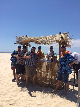 Tewantin, Australien: The Tiki bar