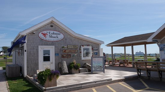 Souris, Canada: The lobster shack