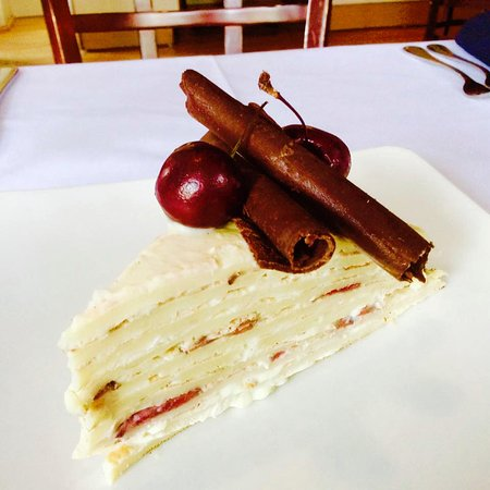 crepe cake Picture of Basq Restaurant and Catering Bristol