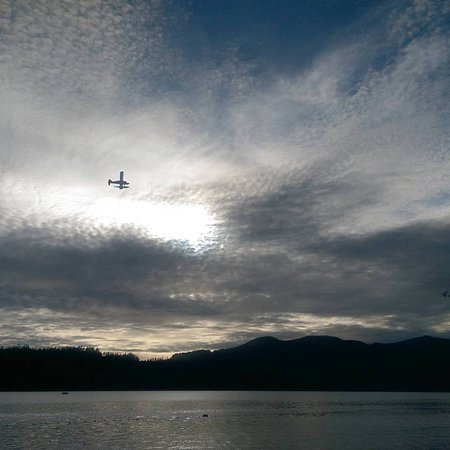 Sechelt, Canada: flying there via float plane
