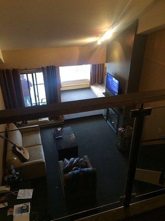 Delta Hotels by Marriott Kananaskis Lodge: View from loft